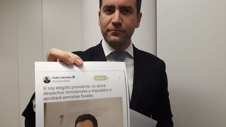 El PP empieza a hablar ya de la dimisión de Sánchez por nombrar ministros a un condenado y un imputado