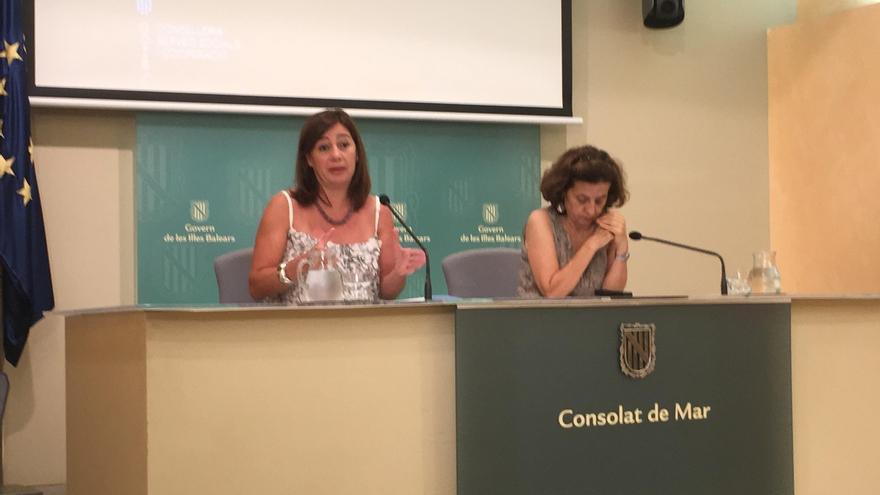 """Armengol sobre la declaración de Rajoy: """"Ya es hora de que la justicia actúe, ya que el propio partido no ha hecho nada"""""""