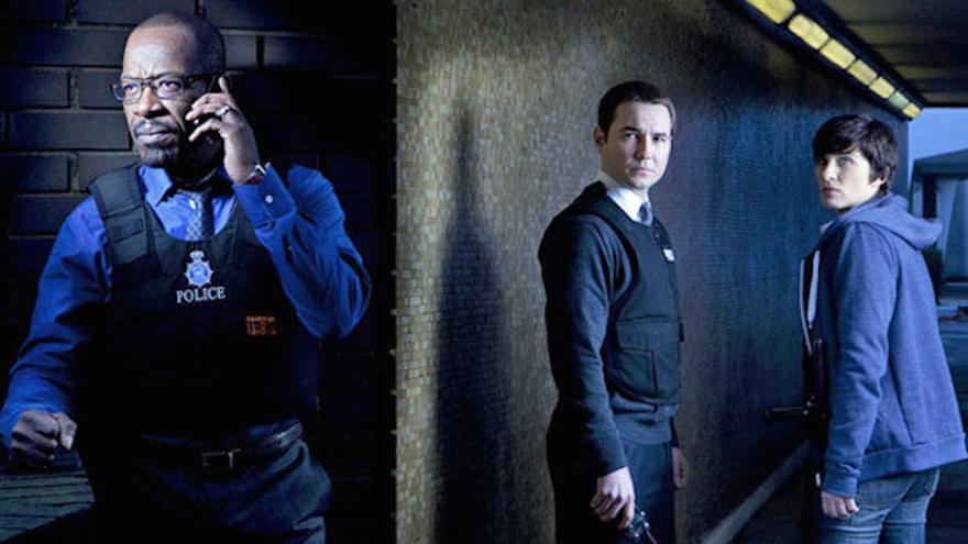 Los protagonistas de la primera temporada de 'Line of Duty'