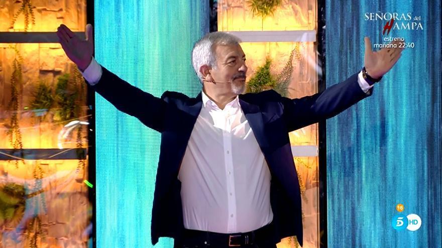 Carlos Sobera en 'Supervivientes: Tierra de Nadie'