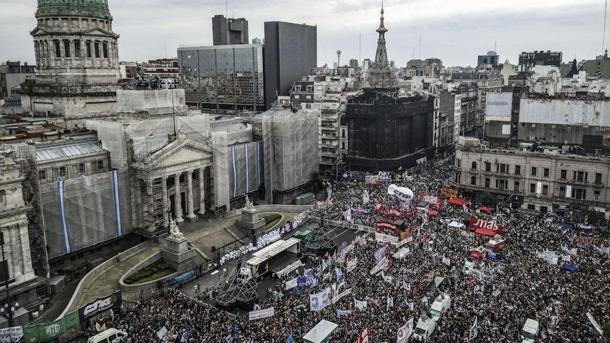 La marcha del 8M el año pasado