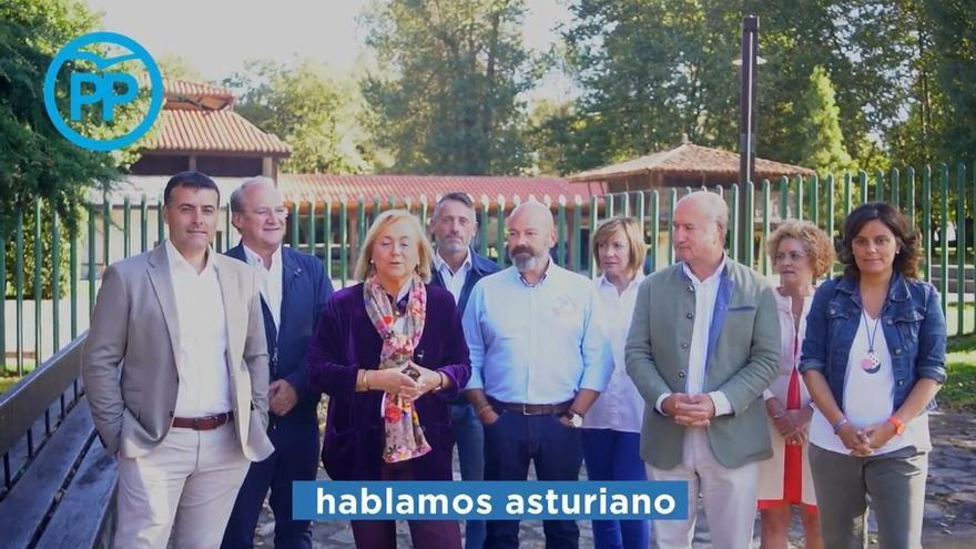 El PP lanza un video contra la oficialidad de la lengua asturiana