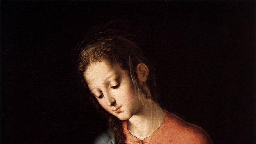 Luis de Morales: Virgen y el niño