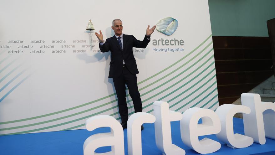 Arteche marca un primer precio en bolsa de 4 euros tras subir el 1,5 %