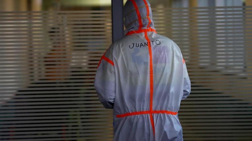 Los servicios de urgencias en el hospital Infanta Leonor, en Madrid.