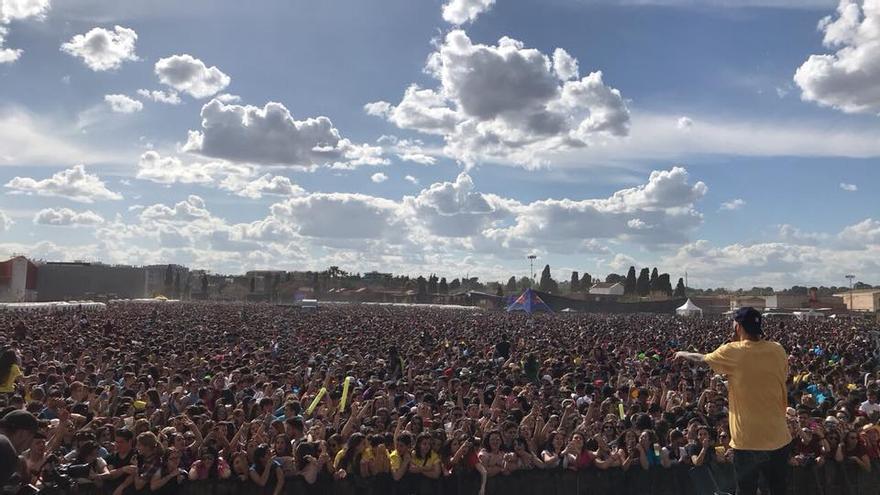 La organización calcula en 24.000 los asistentes a la fiesta universitaria