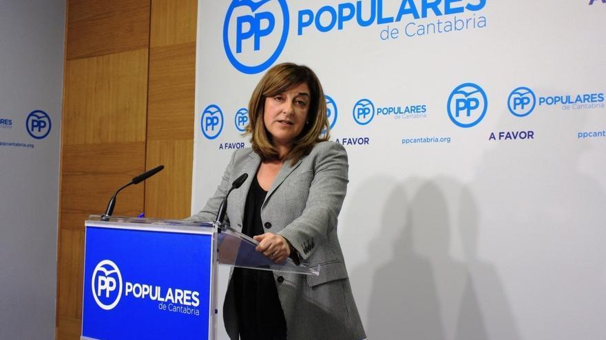 """Buruaga denuncia que el Gobierno PRC-PSOE no ha dejado de subir los impuestos a los cántabros """"para nada"""""""
