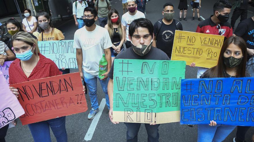 Protesta Costa Salguero