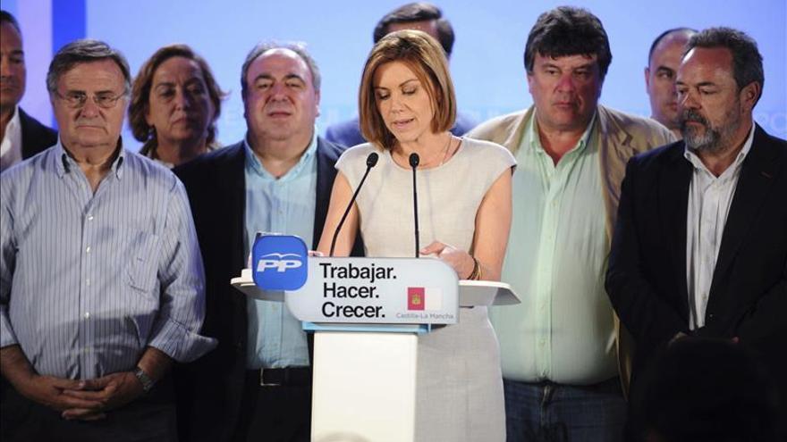 Cospedal: El PP ha ganado las elecciones y ha tenido la confianza mayoritaria