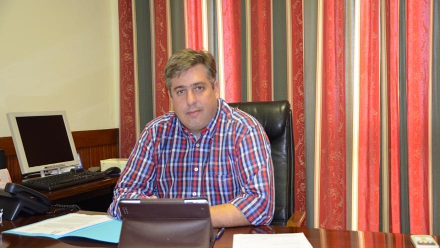 Jorge González, consejero de Infraestructuras del Cabildo de La Palma.