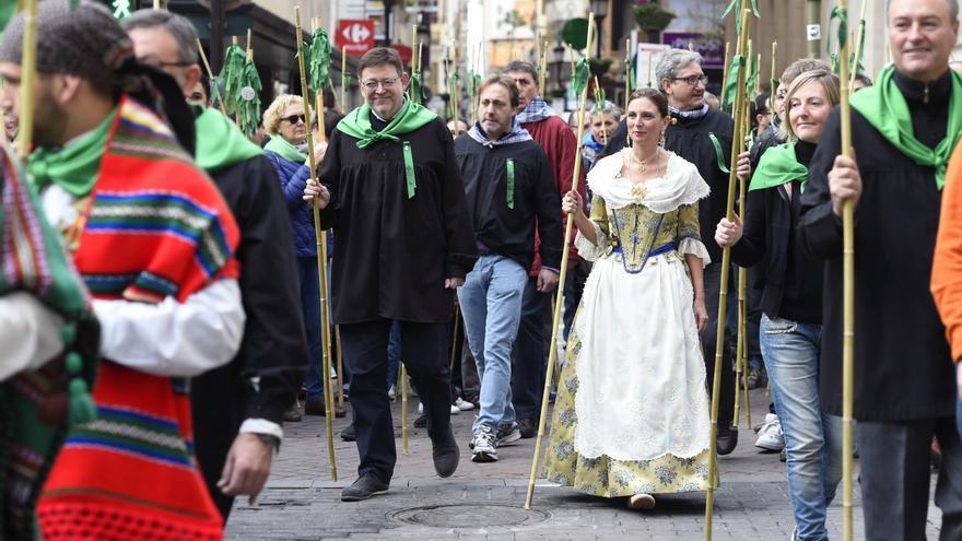 El president Ximo Puig ha participado en la Romeria de les Canyes en Castellón