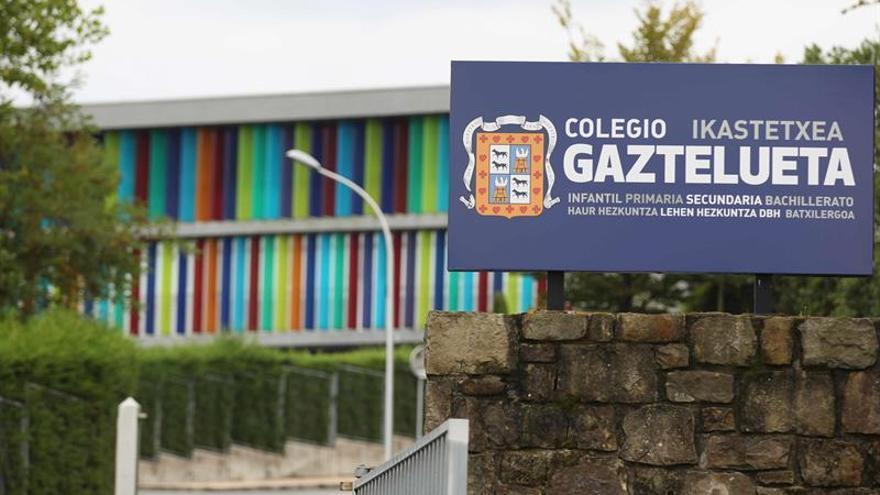 Vista exterior del colegio Gaztelueta de Leioa