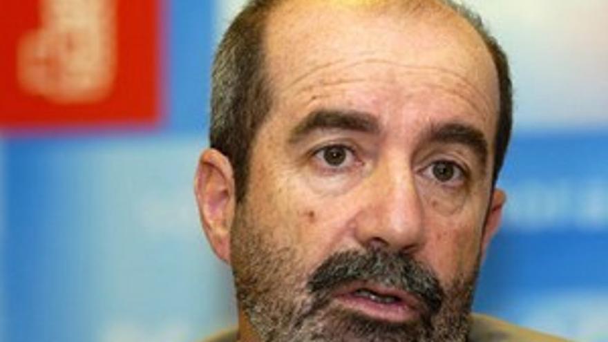 Santiago Pérez, portavoz del PSC.