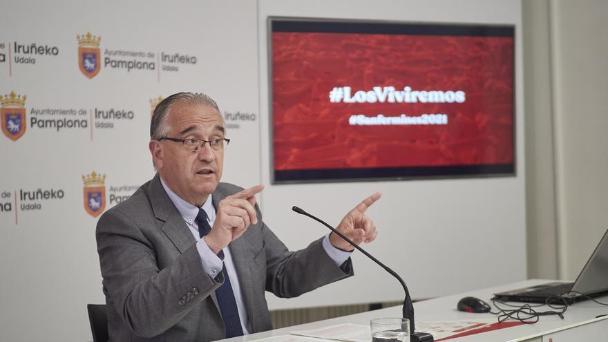 """Pamplona dicta un """"bando de responsabilidad"""" con motivo de la no celebración de los Sanfermines para pedir """"prudencia"""""""