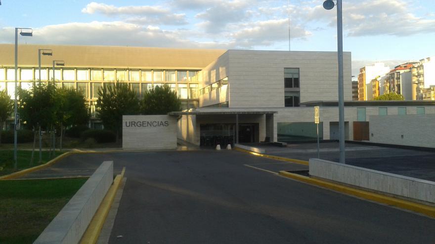 Acceso a urgencias del Hospital General de Castellón