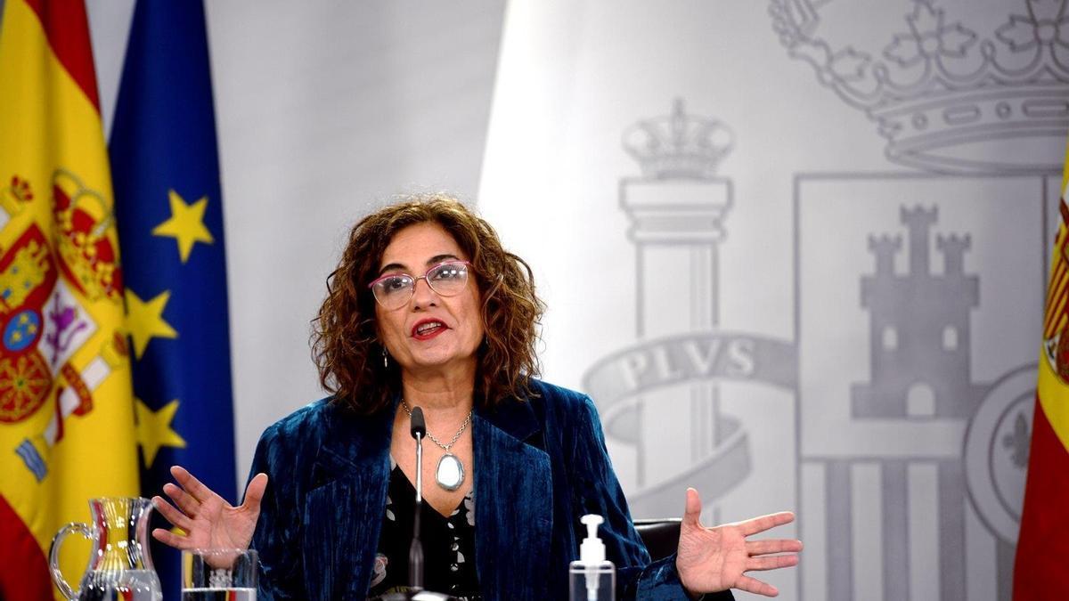 Ministra de Hacienda, María Jesús Montero,