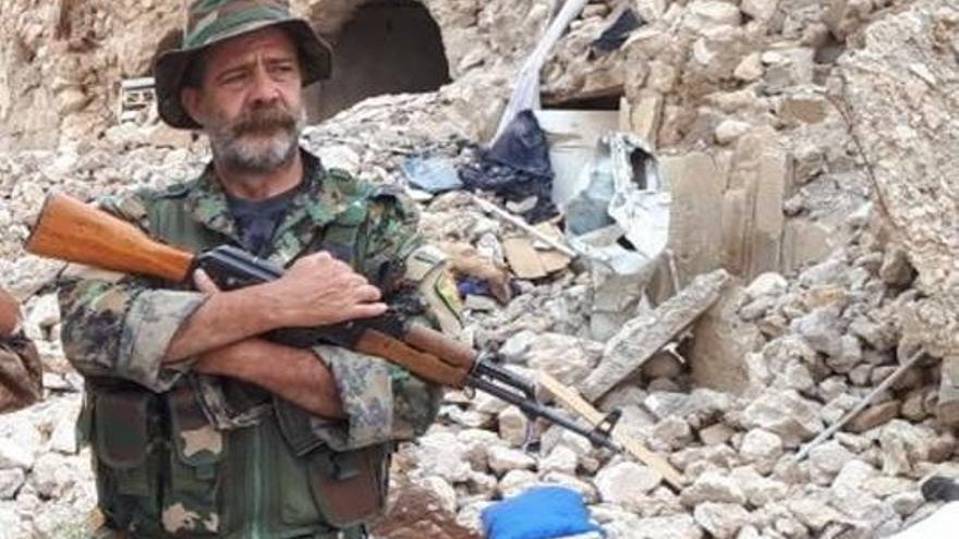 Ramón Rull, en una imagen de su paso por Siria