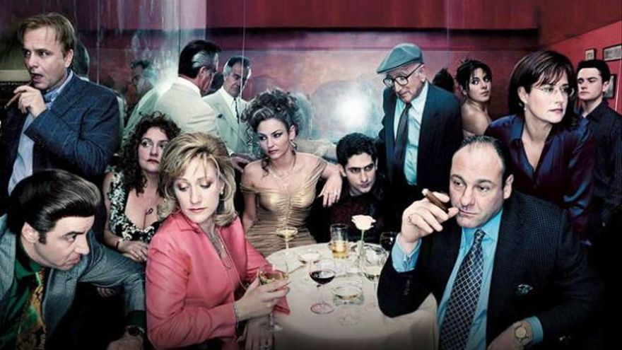 Imagen promocional de 'Los Soprano', de David Chase
