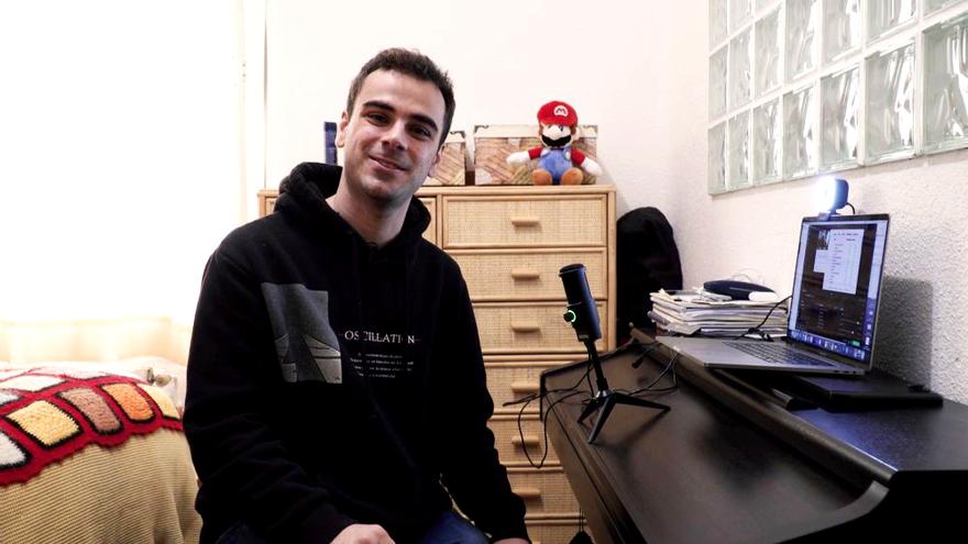 Pablo Díaz abre las puertas de su casa a Antena 3