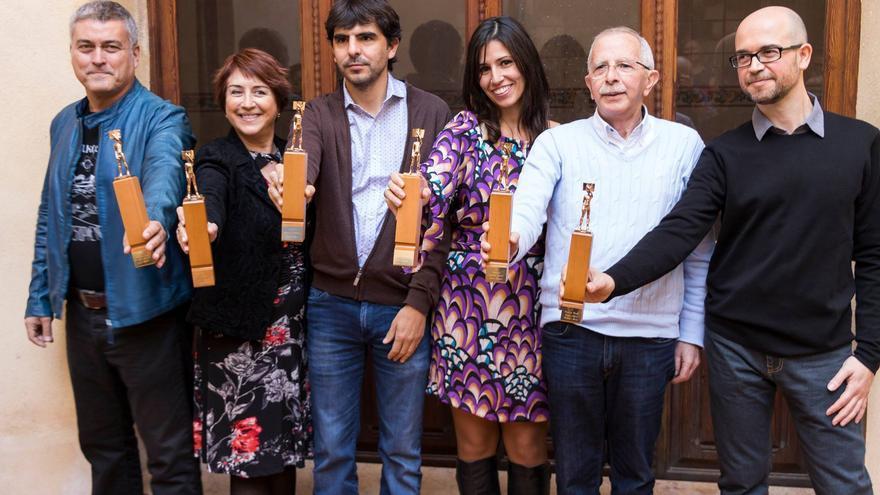 Els guanyadors dels Ciutat d'Alzira 2015, una de les cites claus dels premis literaris