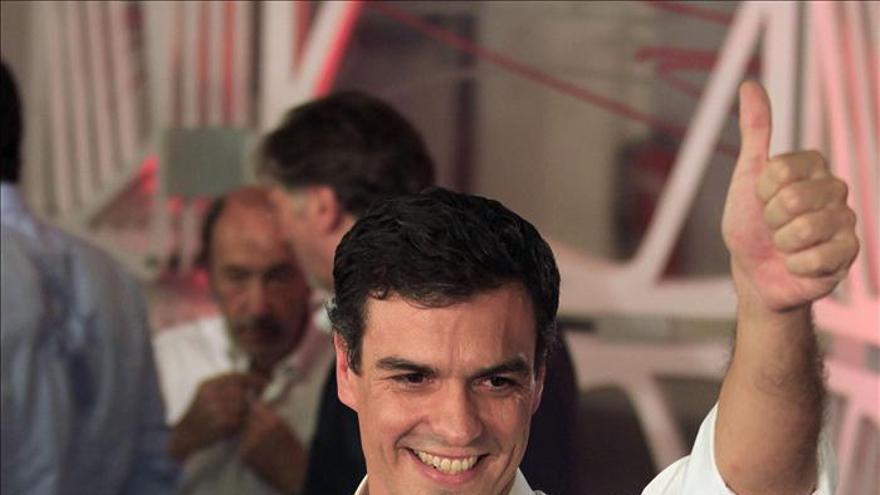 Pedro Sánchez elegido secretario general del PSOE por el 48,6% de militantes