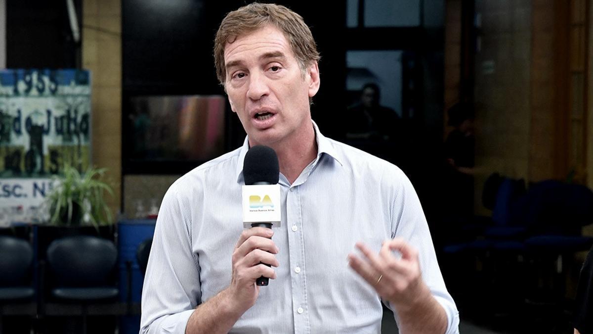 Diego Santilli, precandidato a diputado bonaerense.