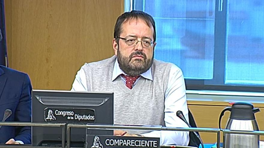Jaime Moñús, ingeniero de Talgo-Bombardier, empresa proveedora del sistema de control de la velocidad del Alvia