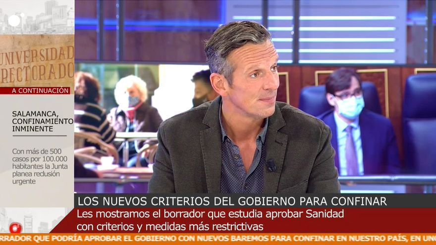 Joaquín Prat en 'Cuatro al día'