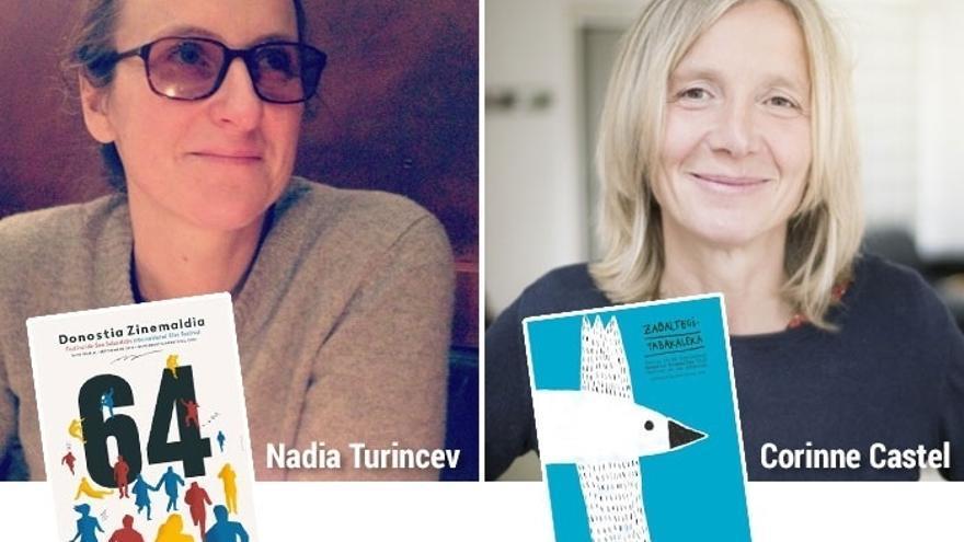 Nadia Turincev y Corinne Castel completan el jurado de la Sección Oficial y de Zabaltegi-Tabakalera