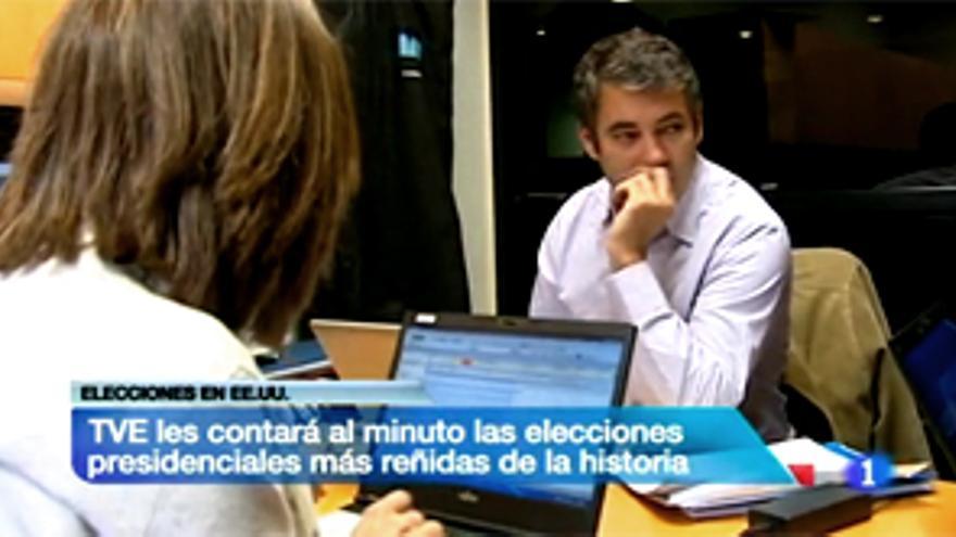 Somoano y Ana Blanco, Vicente Vallés, Isabel Jiménez y Helena Resano, juntos en USA por las elecciones