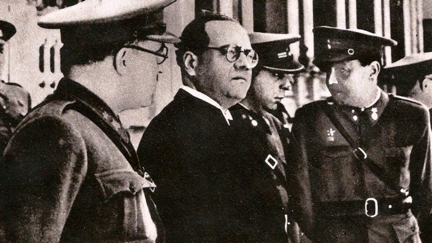Imagen de Juan Negrín, que fue presidente del Gobierno al fin de la Guerra Civil