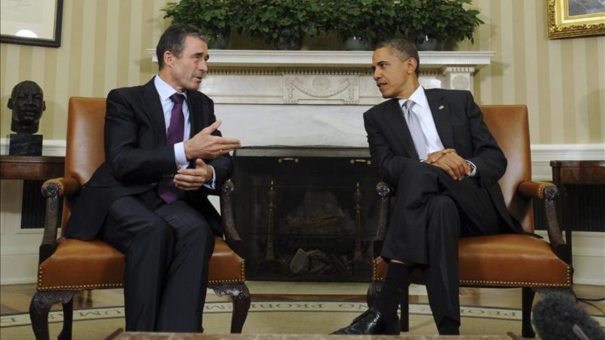 Obama recibe hoy al jefe de la OTAN para abordar la transición en Afganistán