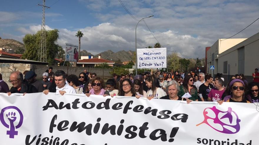 Archena se manifiesta contra el 'día del macho ibérico' impulsado desde su Ayuntamiento