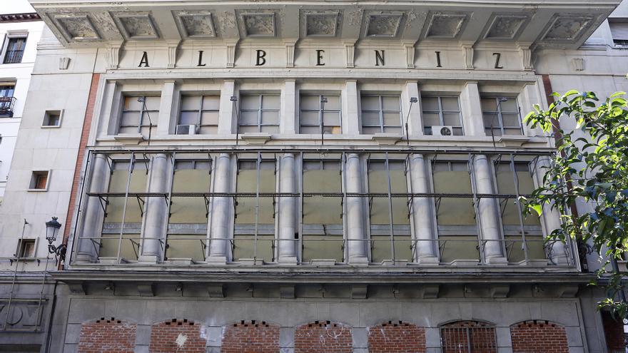 Estado actual del Teatro Albéniz