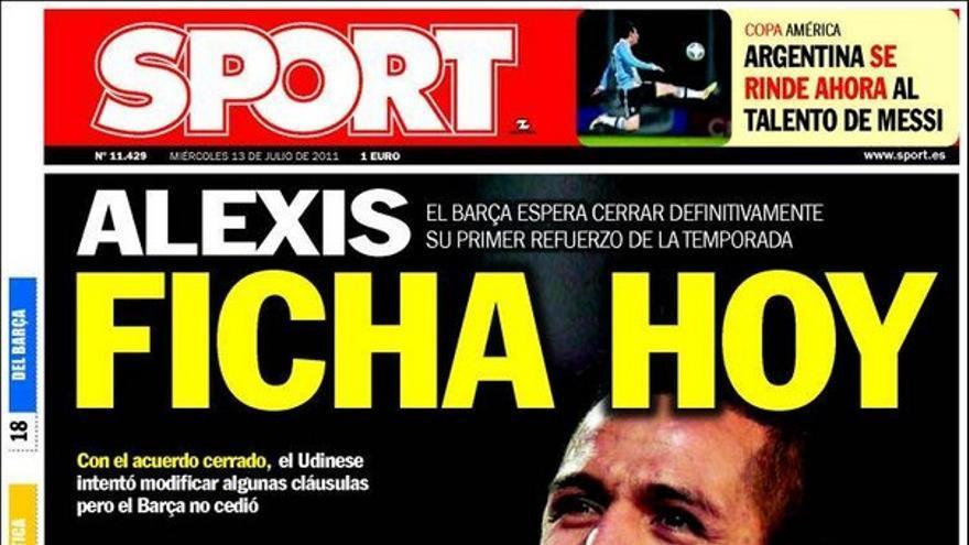 De las portadas del día (13/07/2011) #14