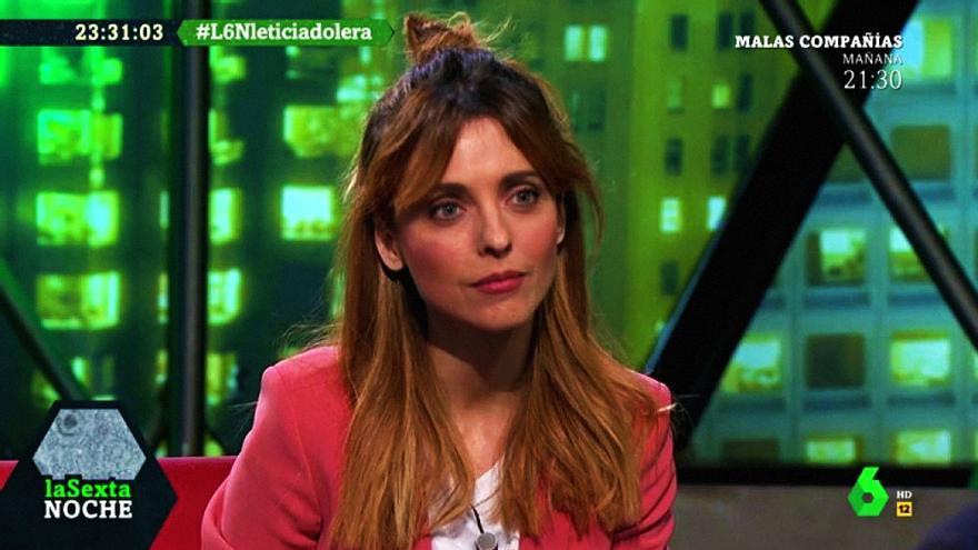 """Leticia Dolera en """"laSexta Noche"""""""