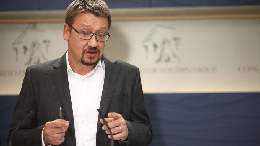 """Domènech afirma que las encuestas """"son poco fiables"""" al haber un """"enorme"""" porcentaje de indecisos"""