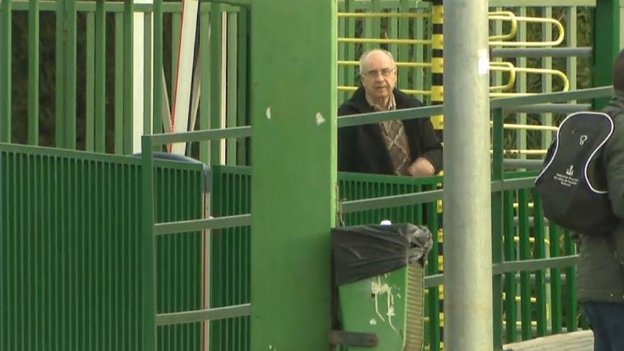 Rafael Blasco sale de la prisión de Picassent.
