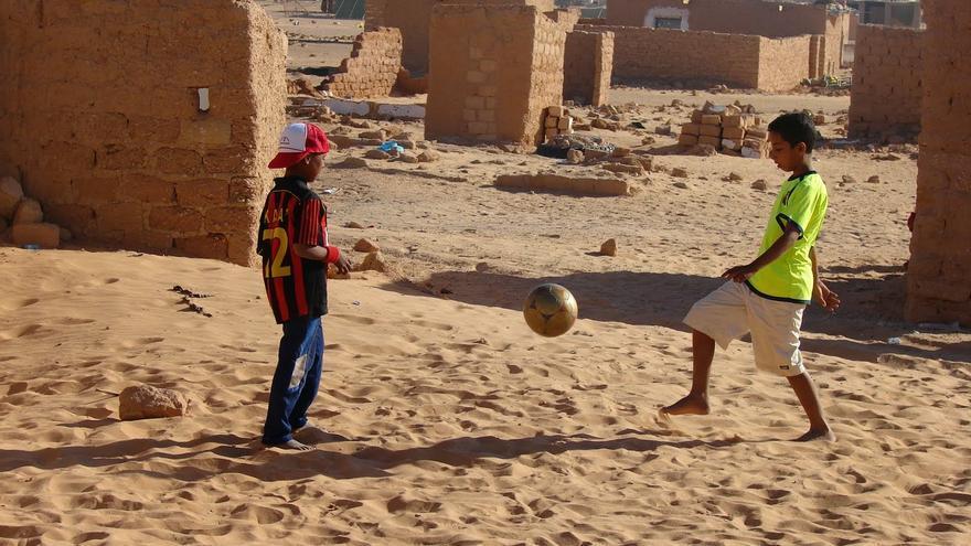 Algunos de los proyectos se desarrollan en campos de refugiados saharauis