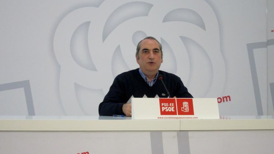 """Arriola (PSE) cree que """"movimientos en la política penitenciaria ayudarían a exigir la desaparición de ETA"""""""
