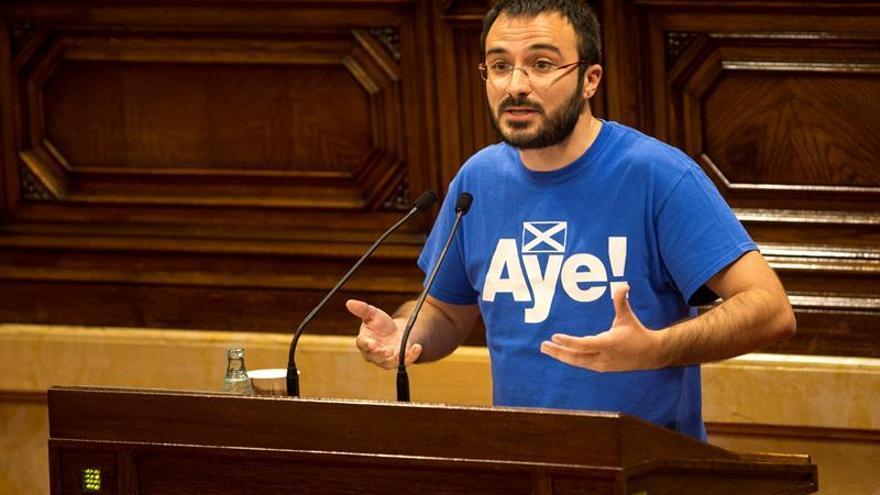 """La CUP crea una web para """"fiscalizar el avance del proceso independentista"""""""
