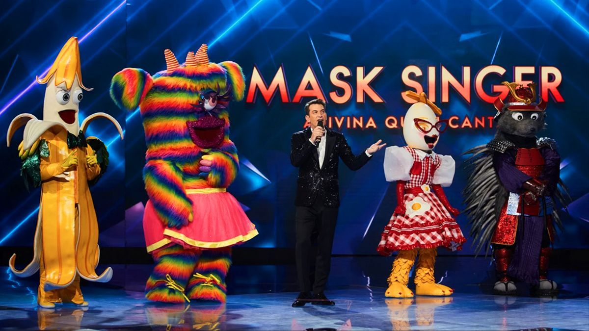 Imagen de la final de 'Mask Singer 2'