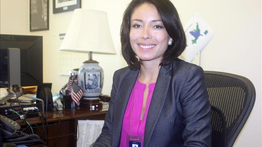 Katherine Vargas, portavoz hispana de Obama, deja la Casa Blanca