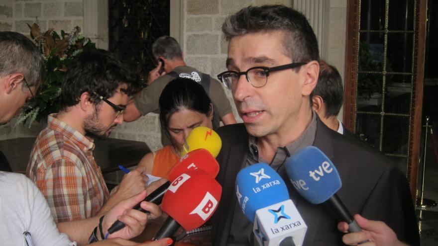 """Jordi Martí (PSC) ve con """"absoluto respeto"""" que Tura se presente a unas primarias del partido"""