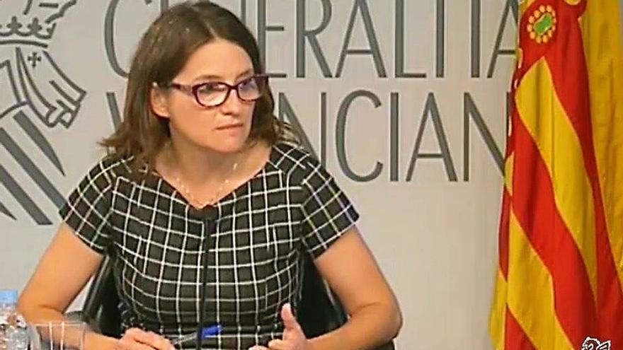 La vicepresidenta valenciana y consellera de Igualdad y Políticas Inclusivas, Mónica Oltra