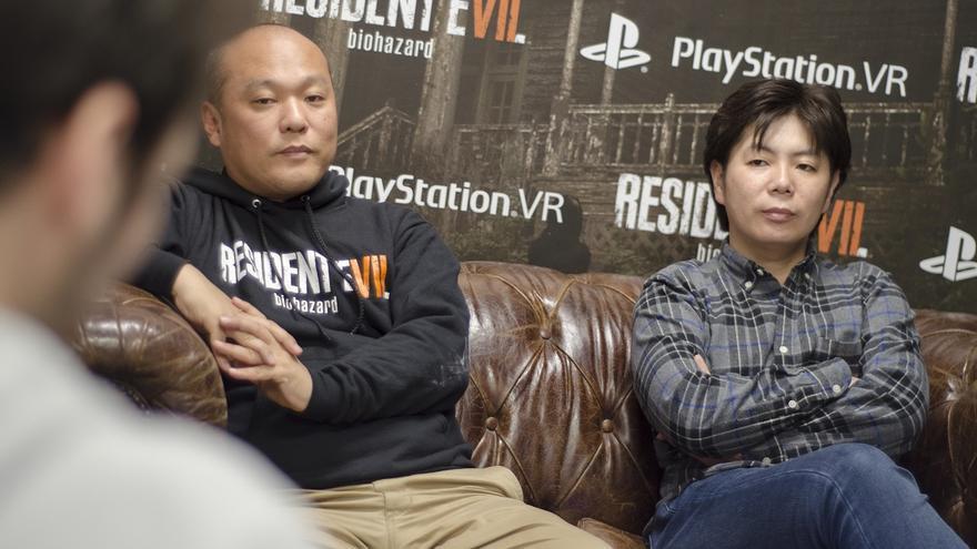 Koshi Nakanishi y Masachika Kawata durante la entrevista con eldiario.es