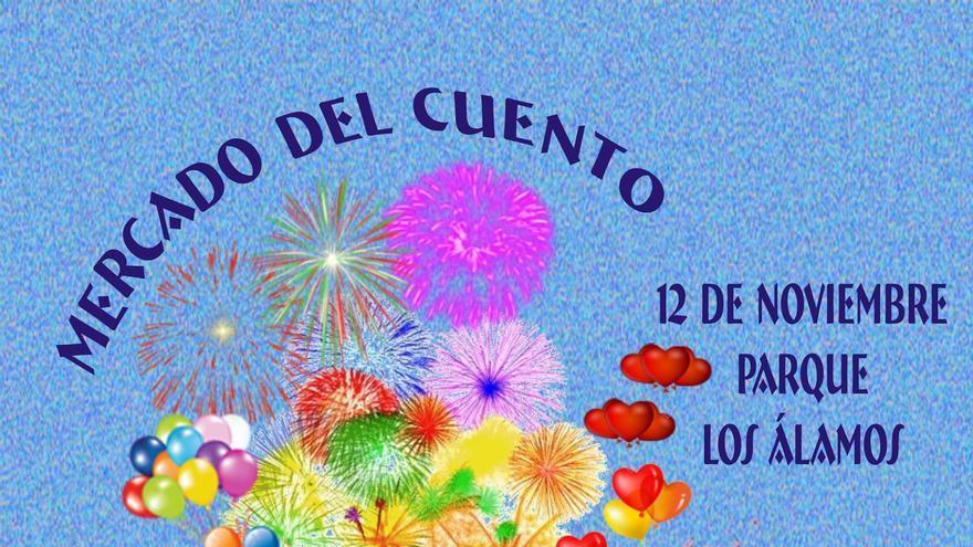 Cartel del 'Mercado del Cuento'.