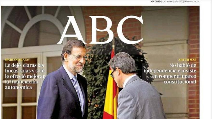 De las portadas del día (21/09/2012) #6