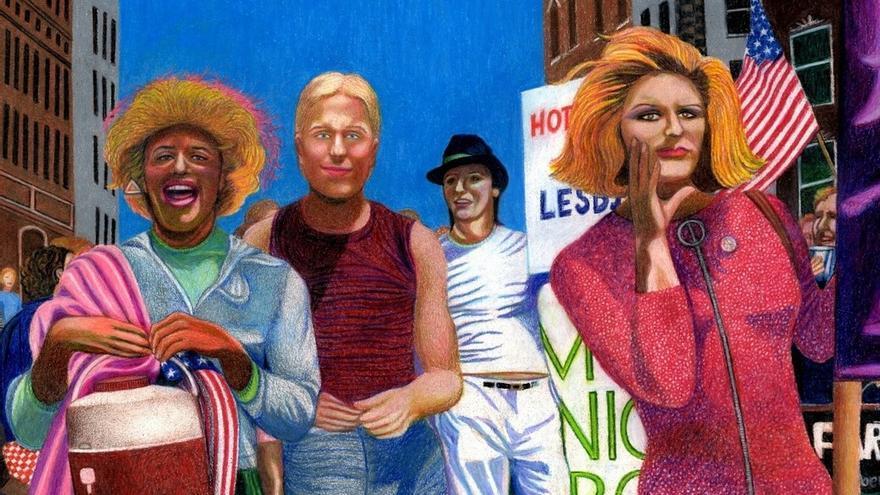 Hace 50 años nueve agentes arrestaron a todas las posibles personas homosexuales que había en el bar Stonewall, en Nueva York
