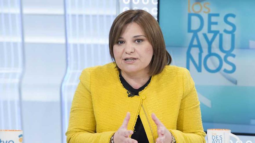 La presidenta del PP valenciano, Isabel Bonig, en Los Desayunos de TVE.